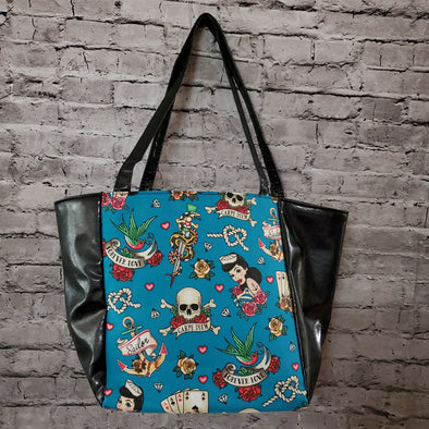 Top Notch Tote- Teal Flash