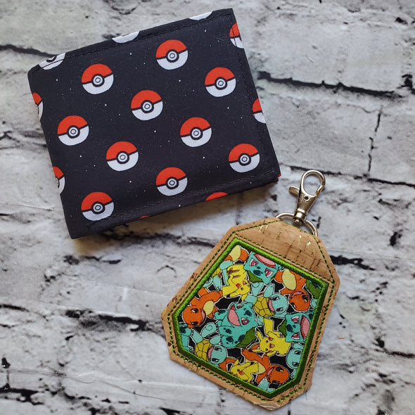 NJFM Wallet & Earbud Holder- Pokémon