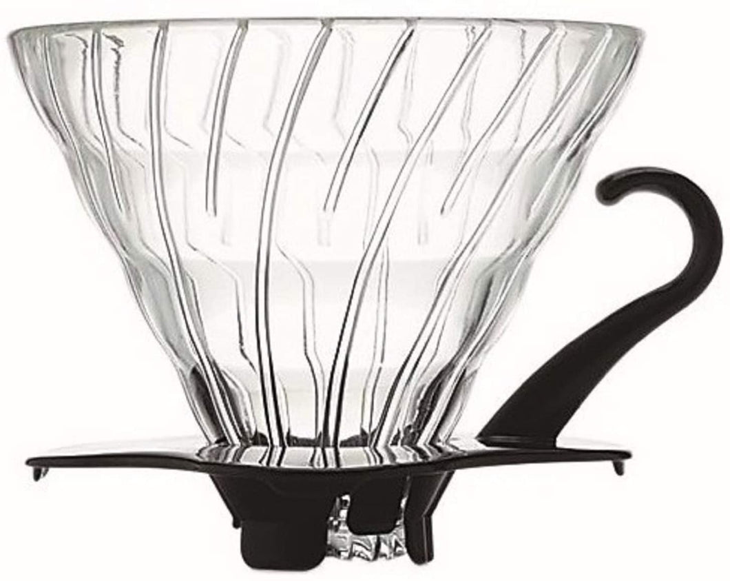 Hario V60 Glass Coffee Dripper, Size 02