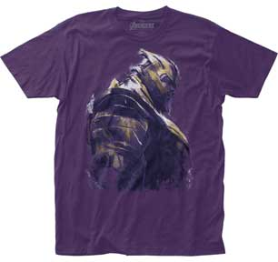 THANOS ARMOUR FITTED  JERSEY T-SHIRT