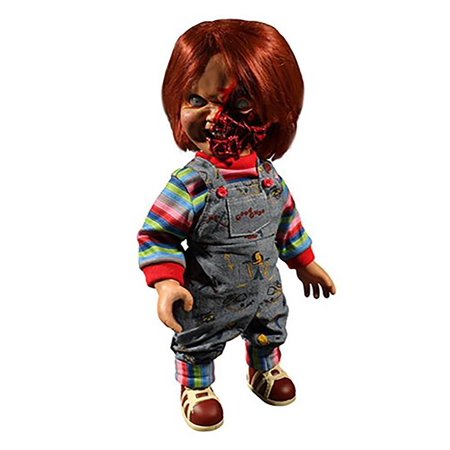 Child's Play Pizza Face Chucky Talking Mega-Scale 15-Inch Doll