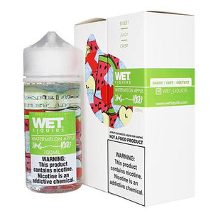 Watermelon Apple ICED eJuice by Wet Liquids ICED