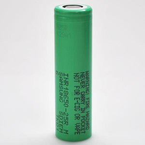 Samsung 25R 18650 2500mAh 20A Battery