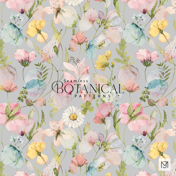 Botanical Seamless Pattern - 047