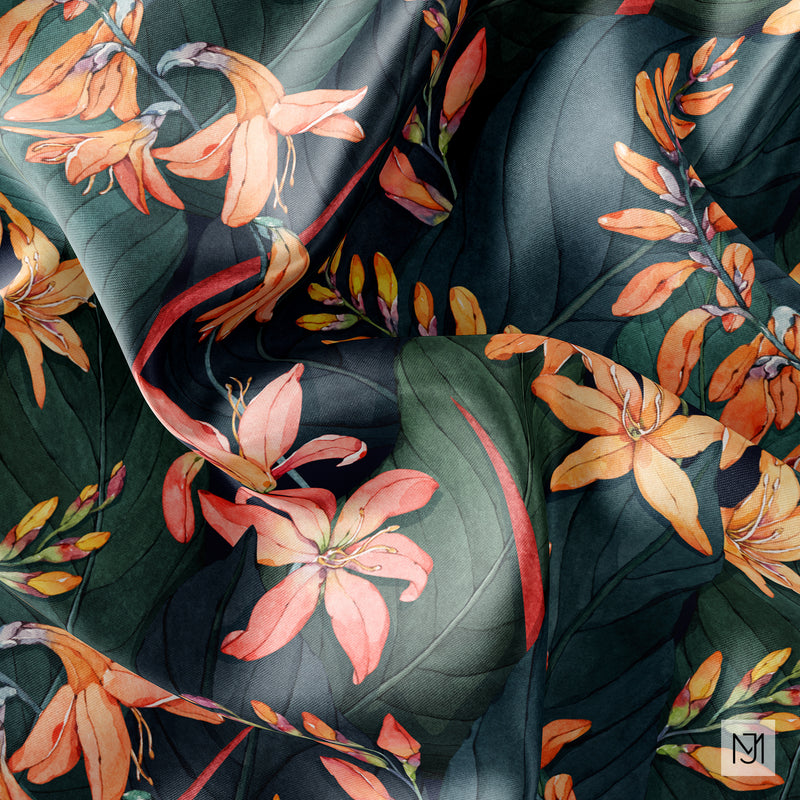 Tropical Seamless Pattern - 060