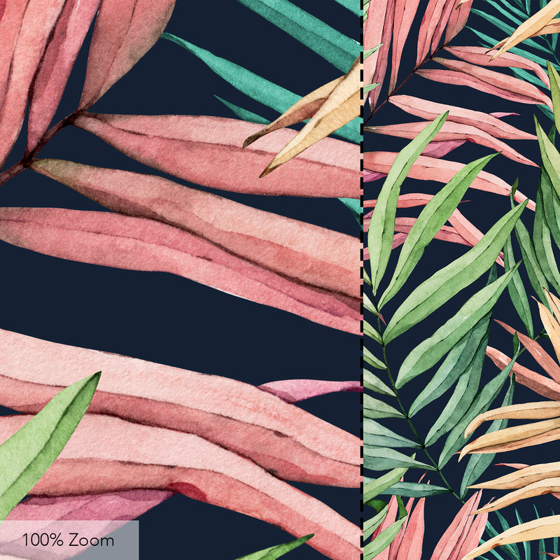 Tropical Leaves Seamless Pattern - 051