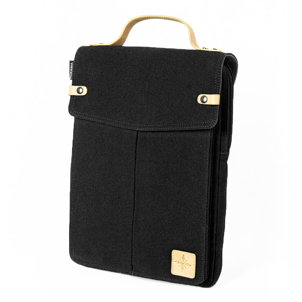 Hong Kong Laptop Bag - Black
