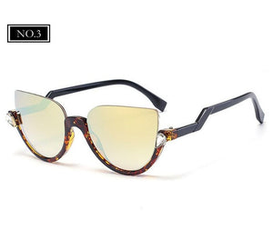 vintage Sun glasses Mirror Shadow glasses For Women