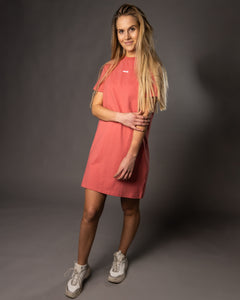 Smeig Tee Dress Coral