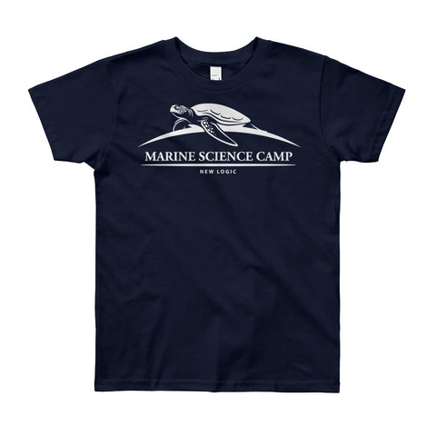 Marine Science Camp Youth Short Sleeve T-Shirt