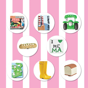 Beat the January Blues with our 3 for €15 Pick N' Mix Offer on all Fridge Magnets!