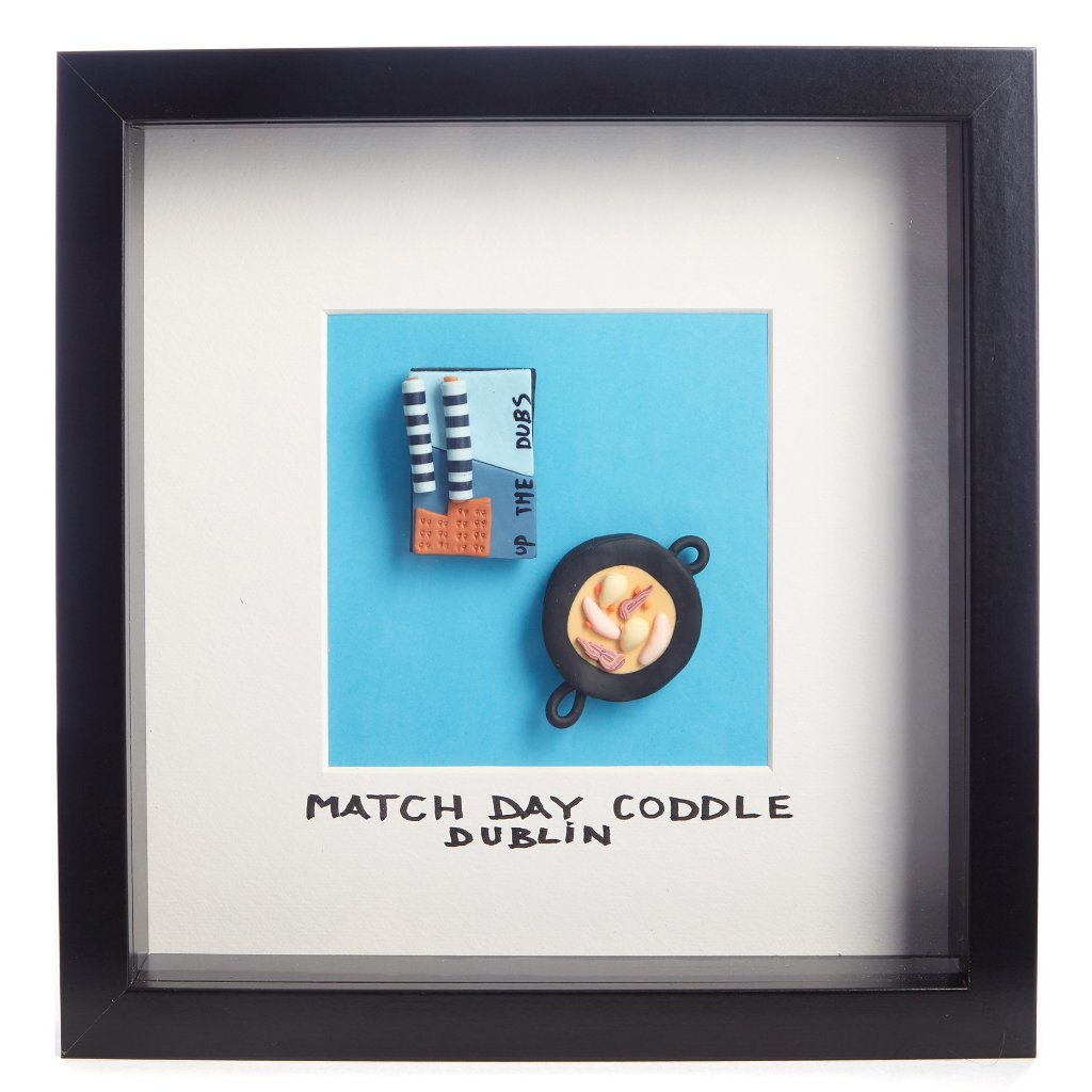 Dubs Playing In Croker - Framed Irish Gift