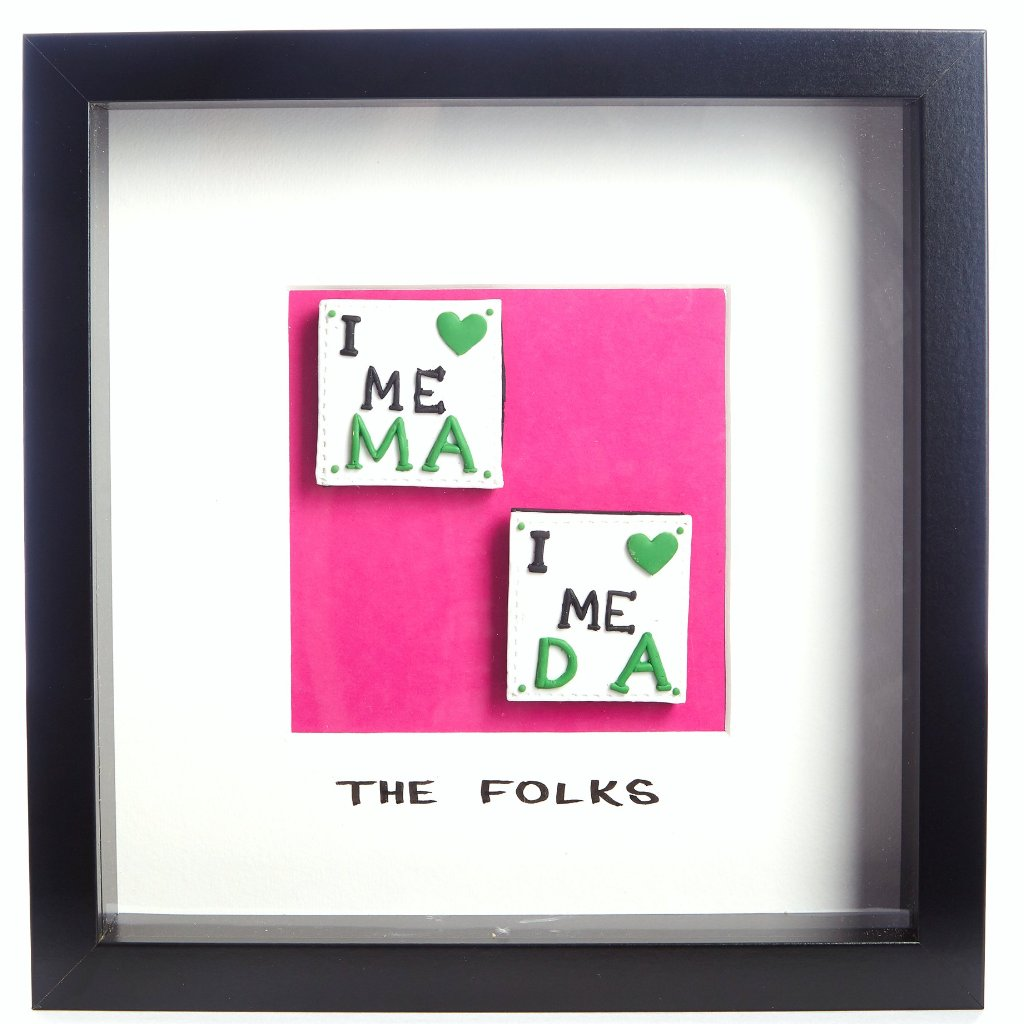 The Folks - Framed Irish Gift