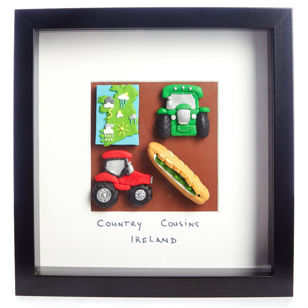 Country Cousins Ireland - Framed Irish Gift