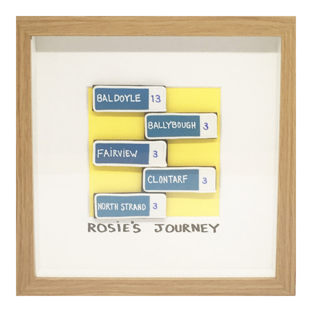 Personalised Journey Frame