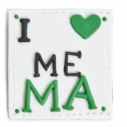 Love me ma clay fridge magnet - Irish gift