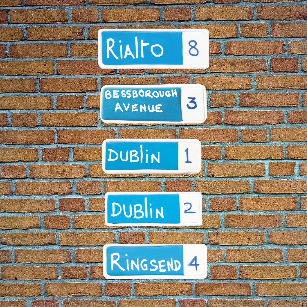 Personalised Street Sign Fridge Magnets