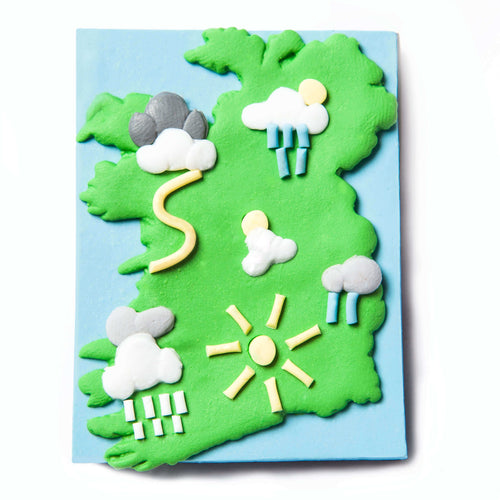 Irish weather fridge magnet - Quirky Irish gifts