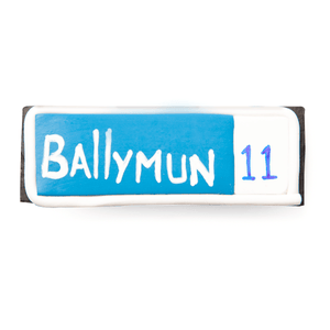 Ballymun street sign fridge magnet - Dublin themed gifts