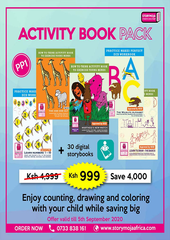 Activity Book pack for PP1