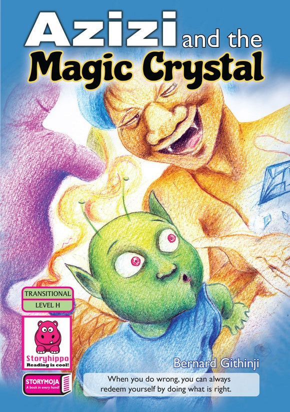 Azizi and the Magic Crystal