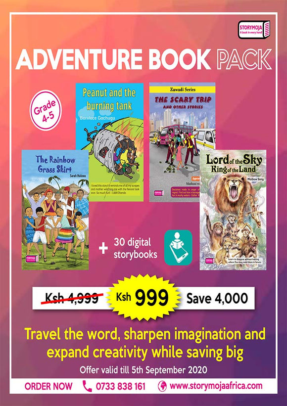Adventure book pack for grade 4-5