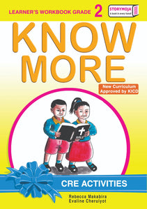 CRE Activities Learner's Workbook Grade 2
