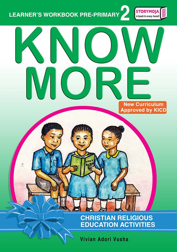 CRE Activities Learners Workbook Pre-primary 2