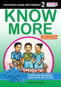 CRE Activities Teacher's Guide Pre-Primary 2