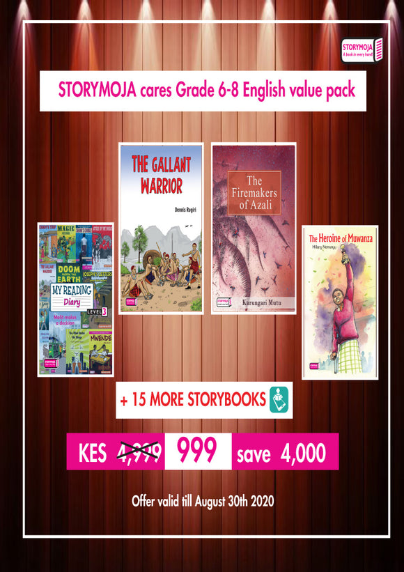 Grade 6-8 English value pack