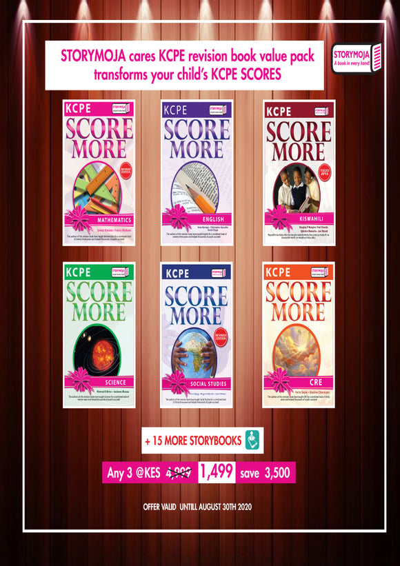 KCPE revision book value pack