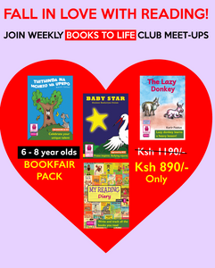 Books to life level 1 (6-8 years old) pack. English and Swahili