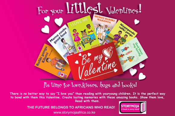 Storymoja Valentine Book pack Two- 4-6 years