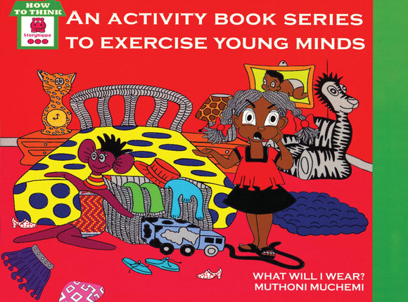 What will I wear- Activity book