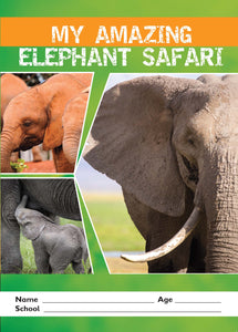 My Amazing Elephant Safari activity book