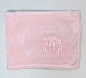 Classic Pink Baby Blanket