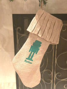 Nutcracker Stocking Personalized!