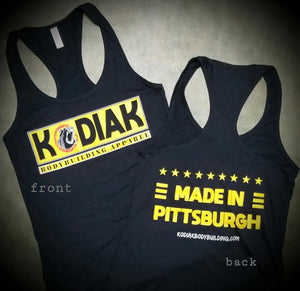 Made in Pittsburgh Ladies Tank (LG)