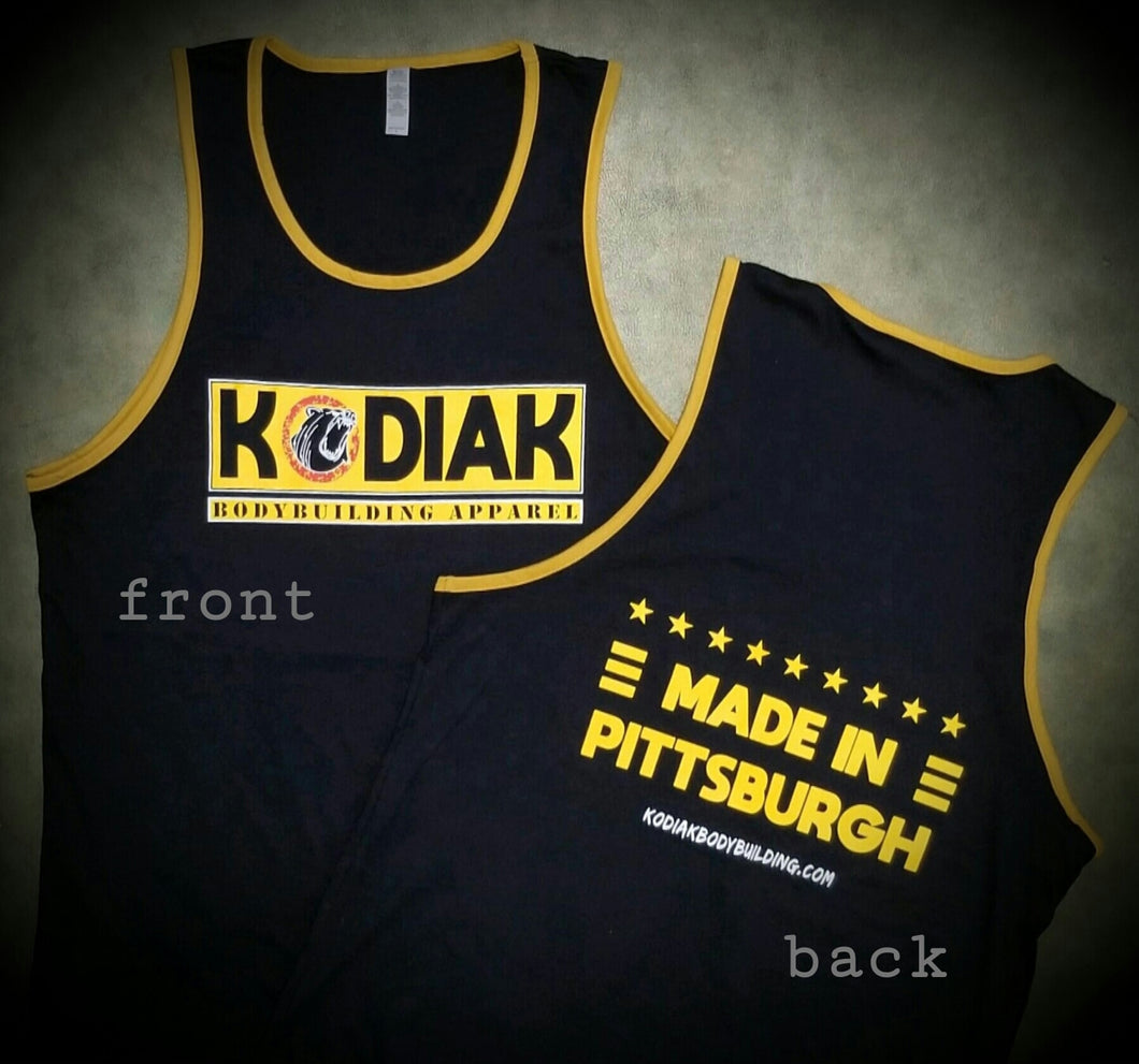 Made in Pittsburgh Mens Tank (2X)