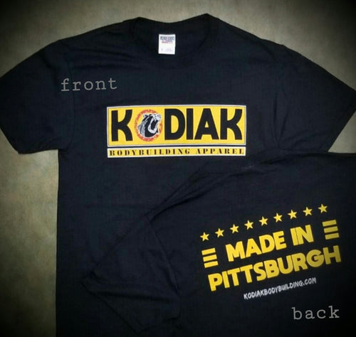 Made In Pittsburgh Tee (black)