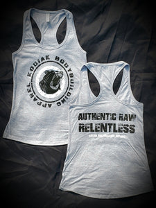 Authentic Raw Relentless ladies tank