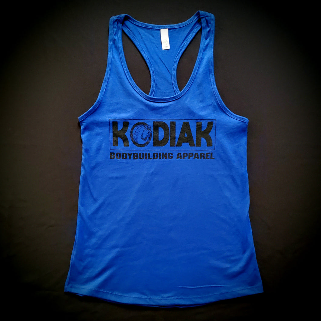 Blue Logo Ladies Tank