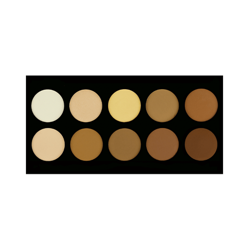 10 Color Powder Contouring Palette