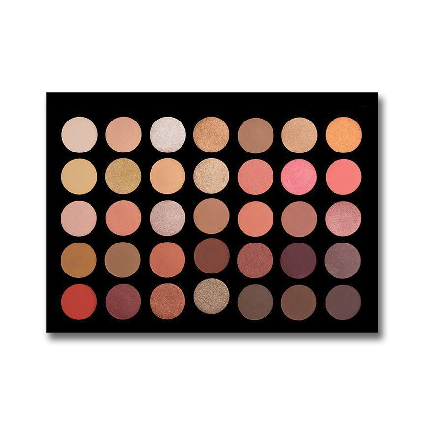 35 Color Rose Gold Eyeshadow Collection