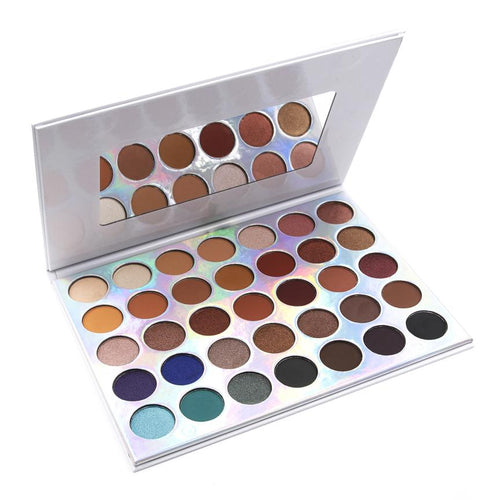 35 COlor OMG Eyeshadow Palette Angle View