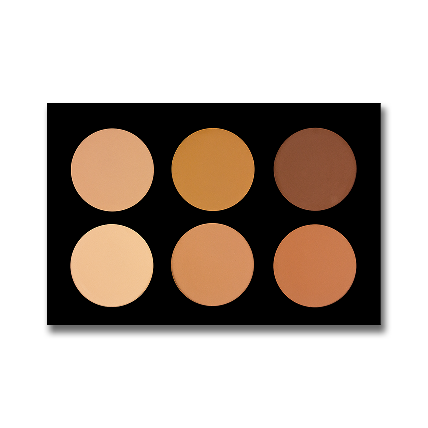 6 Color Pressed Powder Foundation 6PPF
