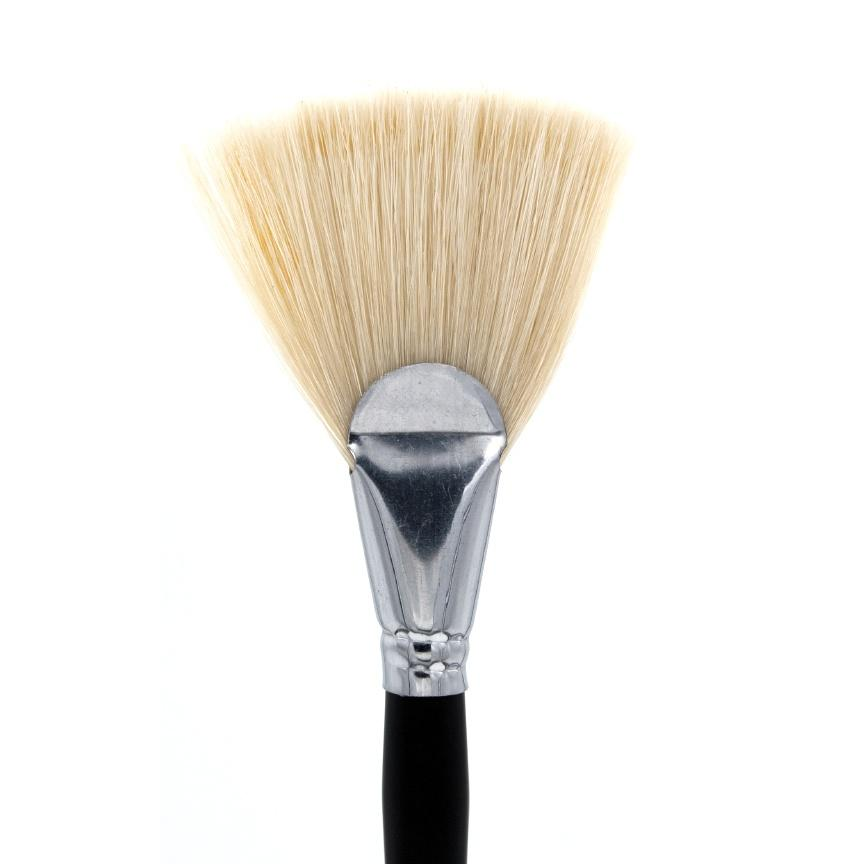 Jumbo Treatment Fan Brush