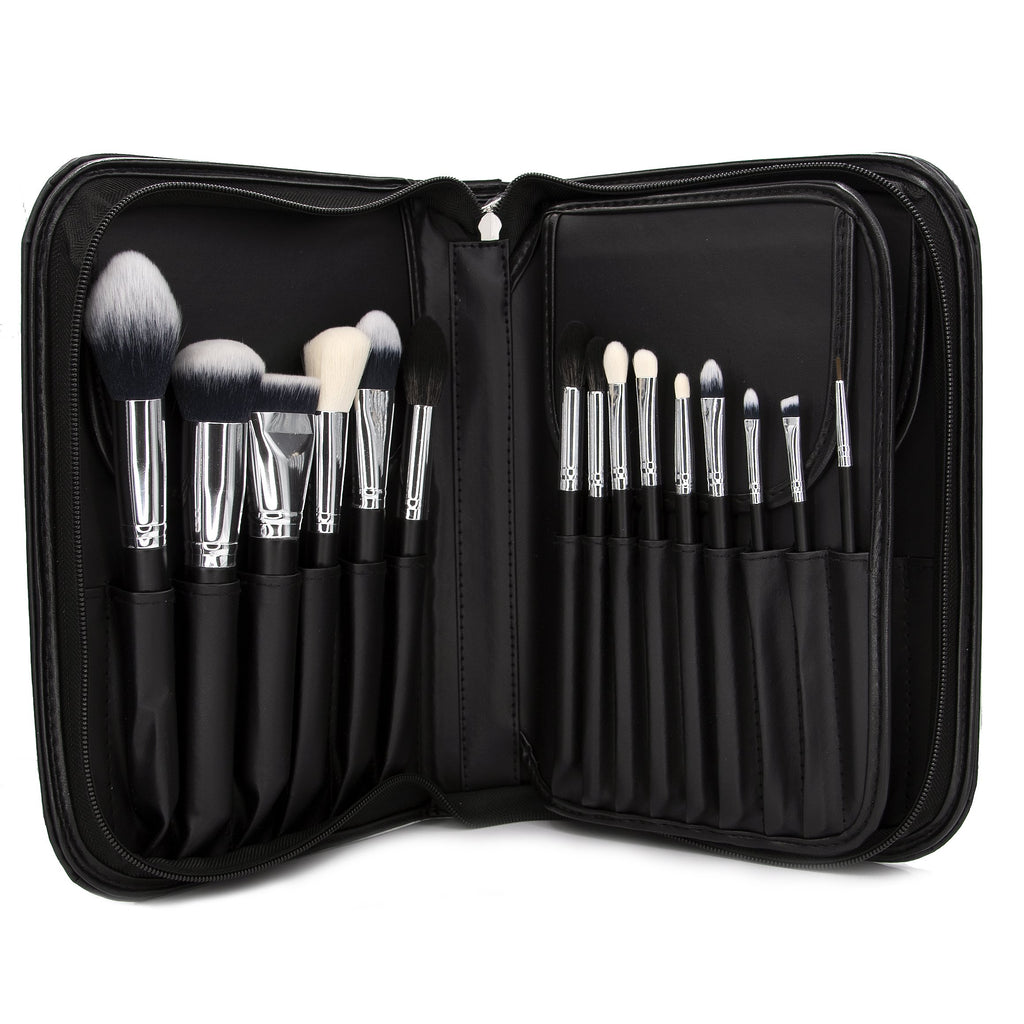 15 PC Pro Brush Set w/ Book Case 901B
