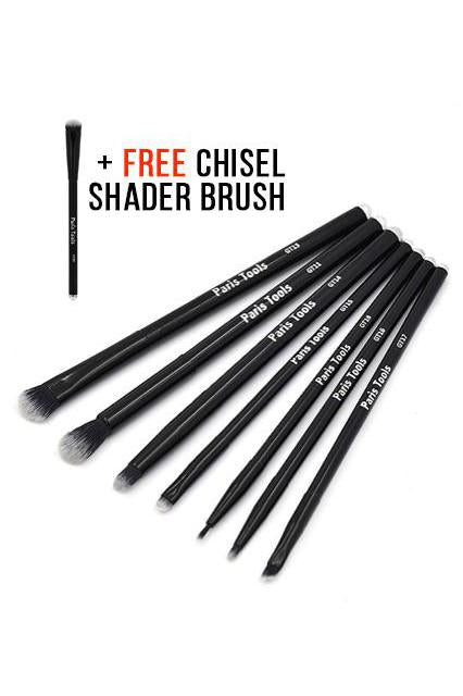 7PC Eye Set + FREE Chisel Shader Brush
