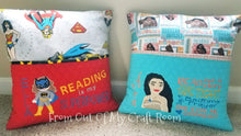 Reading Book Pillows